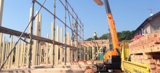 アパート建築事業