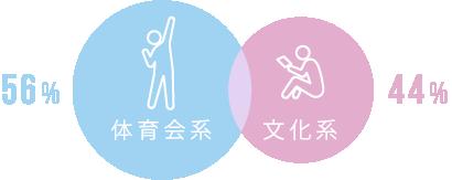 体育会系 or 文化系