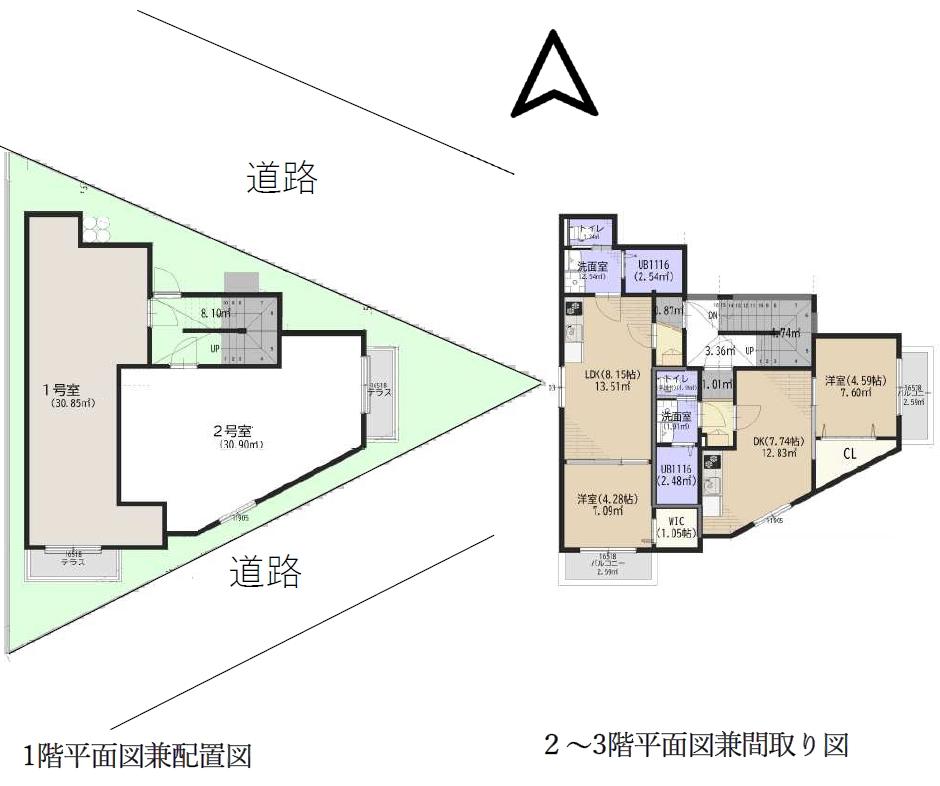 ■新築収益物件■ AJ小平【東京都小平市】